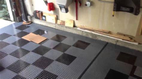 G floor raceday garage flooring   YouTube