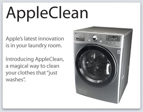 What If Apple Released A Siri Controlled Washing Machine
