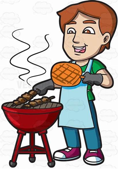 Clipart Barbecue Grill Bbq Cook Grilling Cooking