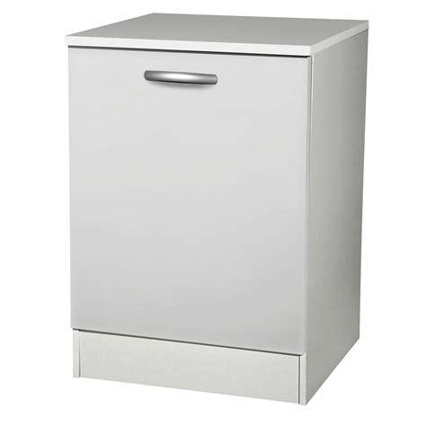 porte meuble cuisine leroy merlin meuble de cuisine bas 1 porte blanc h86 x l60 x p60 cm