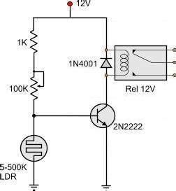 Light Dark Activated Relay Randizzle