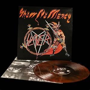 """Slayer """"Show No Mercy"""" 12"""" - Metal Blade Records"""