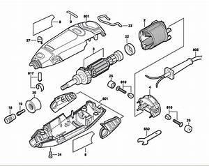 Dremel 3000  F013300000  Parts List