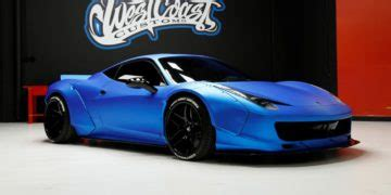 The car is the creation of west coast customs, which bieber has long supported. Update (Sold): Justin Bieber's Liberty Walk Ferrari 458 Up for Auction