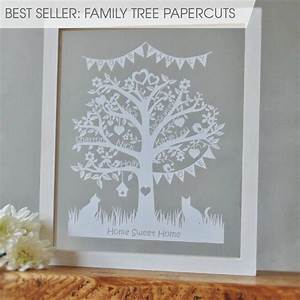 39moo39tiful personalised papercuts pretty things family With paper cut family tree template