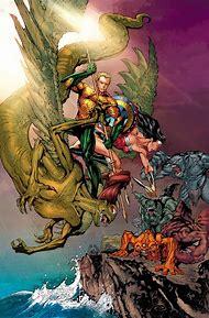 Aquaman and Wonder Woman Comic