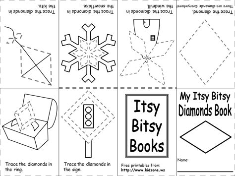 itsy bitsy book 243   ib book diamonds