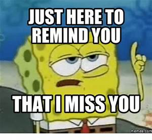 20 I Miss U Memes For When You're Apart | SayingImages.com