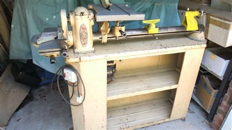 myford ml wood turning lathe woodworking  burgess