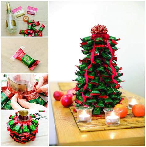 christmas tree with chocolates wonderful diy chocolate christmas tree 4598