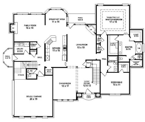 house plans 5 bedrooms pretty house plans with 4 bedrooms on bedroom 3 5 bath house plan house plans floor plans home