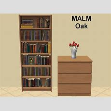 Mod The Sims  Billy Bookcase Missing Malm Colours