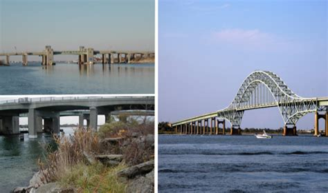 robert moses causeway bridges  state boat channel