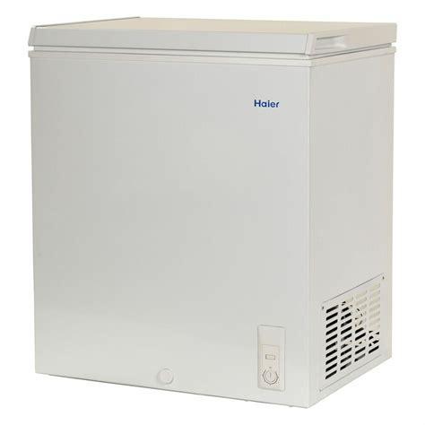 haier chest deep freezer  cu ft small size compact dorm