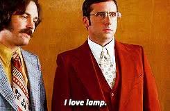 brick tamland steve carell saying i love l during a scene