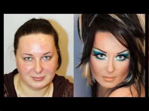ugly  pretty makeup  wonders transformation