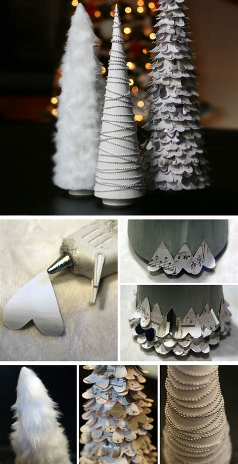 diy white christmas decor projects  crafts