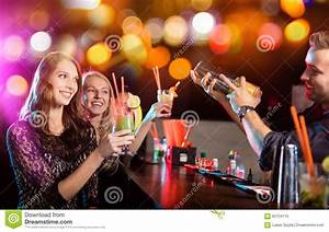 Group Of Young People Having Party Celebration. Stock ...