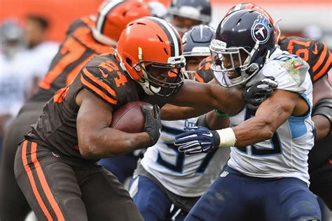 NFL Schedule Week 13: Browns vs. Titans to have AFC ...