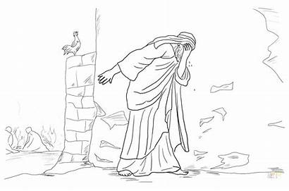 Jesus Resurrection Coloring Pages Christ Drawing Getdrawings