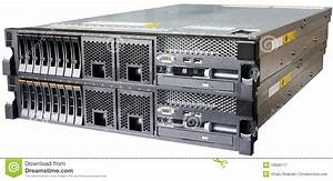 Two Servers Over White Royalty Free Stock Photography ...