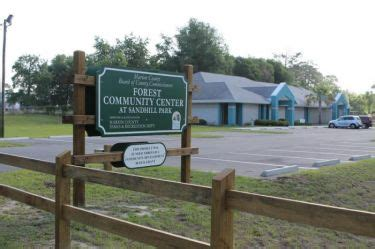 forest community center at sandhill park 4 ocala
