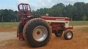 Ih Farmall 460 Pulling Tractor Rolling Chassis For Sale In Eatonton  Ga
