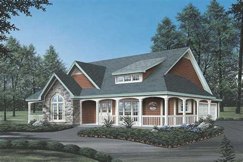 Country Home Plans Wrap Around Porch by Country House Plan 3 Bedrms 2 Baths 2029 Sq Ft 138