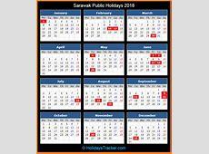 Sarawak Malaysia Public Holidays 2018 – Holidays Tracker