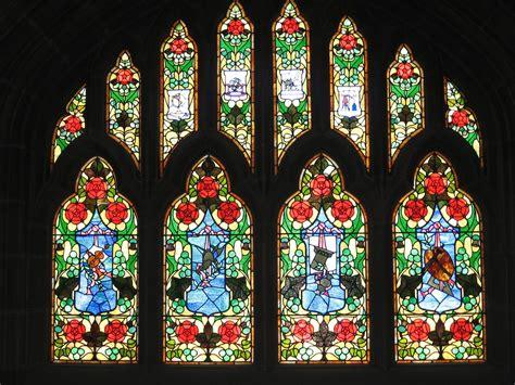 stained glass window victoria museum ottawa  stock