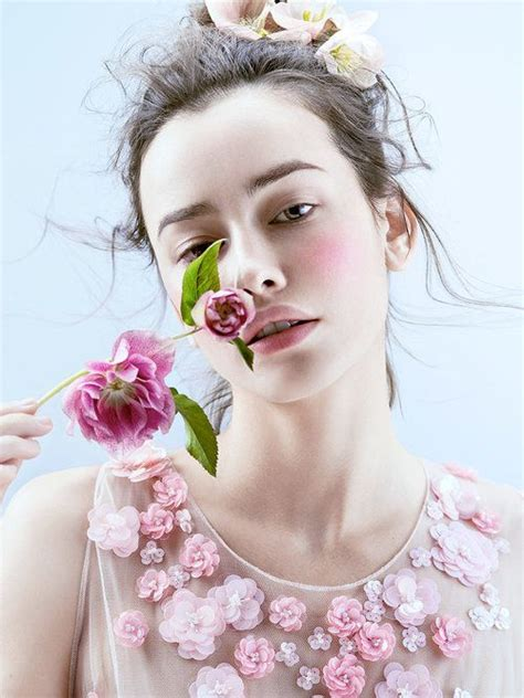 jingna zhang  vogue japan wedding flowers fashion