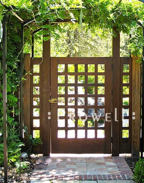 how to build a privacy fence gate woodworking