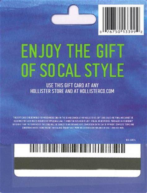Ee  Hollister Gift Card Bala E Ee   Check  Ee  Gift Ee    Ee  Card Ee