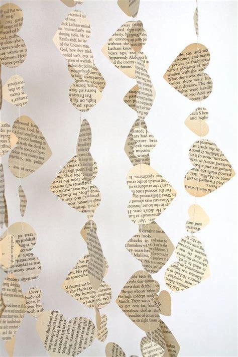 papier herz girlande hochzeit dekoration hochzeit von