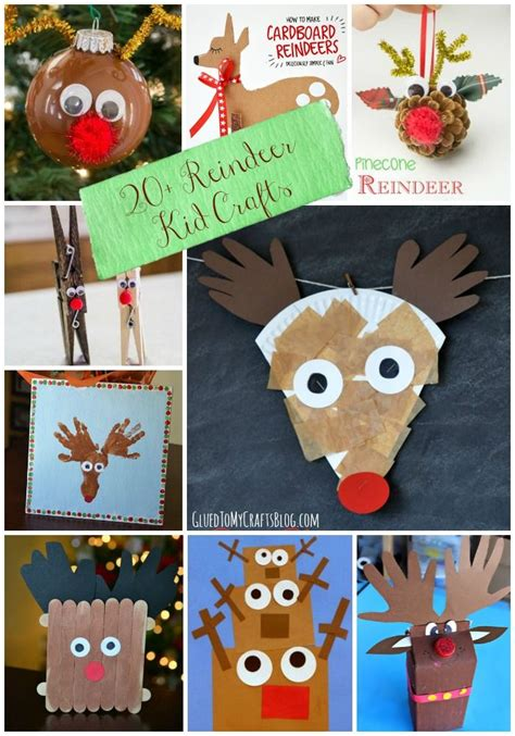 craft ideas for 20 reindeer kid craft roundup reindeer holidays in 3832