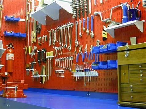 Garage Organization Workshop Tools by Peg Wall Board Tool Storage Wall Storage Organization