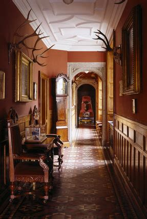 view   corridor showing  tessellated victorian