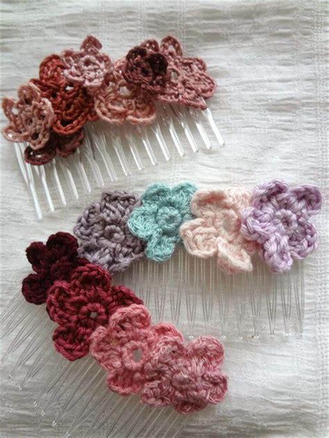 easy quick crochet flowers pattern diy