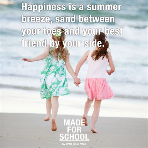 Quote Summer Happiness  Made For School
