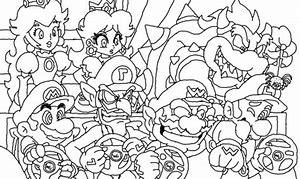 Coloriage Mario 3d Land Coloriage A Imprimer Coloriage Gratuit