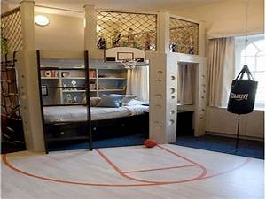 Interesting, Sports, Themed, Bedrooms, For, Kids, -, Interior, Decorating, Colors