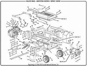 Homelite Bm10700j 7000 Watt Generator Parts Diagram For General Assembly