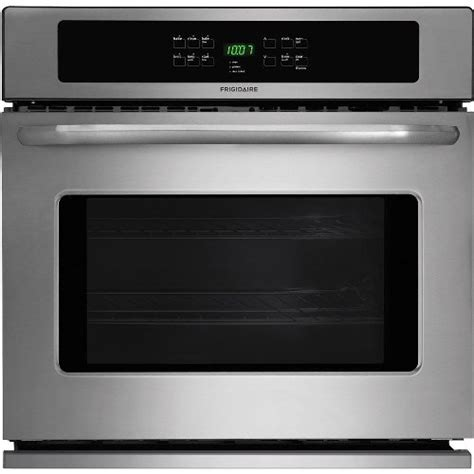 frigidaire ffewps  single electric wall oven  baking technology  cleaning