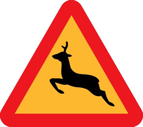 Browse our road signs sign images, graphics, and designs from +79.322 free vectors graphics. Warning Deer Road Sign clip art (109471) Free SVG Download ...