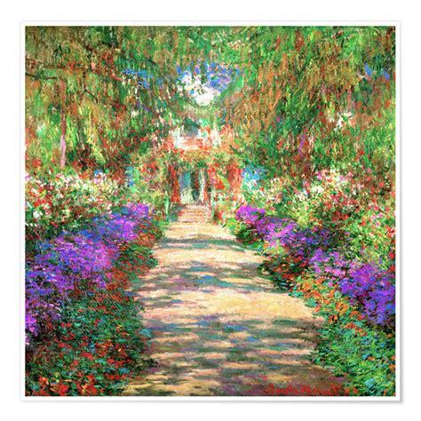 Posters et tableaux d'Une allée du jardin de Monet