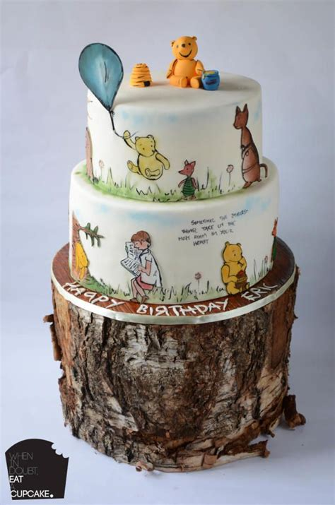 ideas  winnie  pooh cake  pinterest