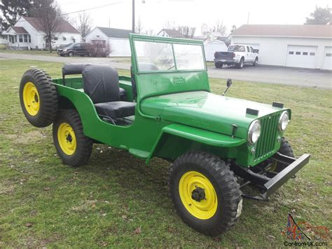 willys cja jeep fully restored  brand