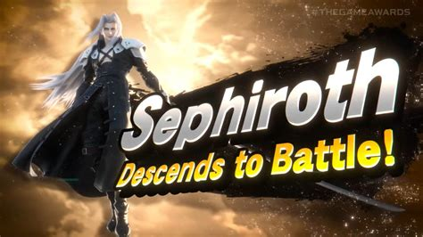 Sephiroth Will Join Super Smash Bros Ultimate - Siliconera