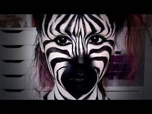 Zebra Schminken Fasching Top 17 Easy Animal Face Painting Designs