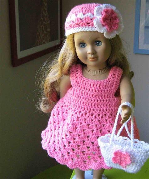 doll dress parttern crocheted doll dress  american girl